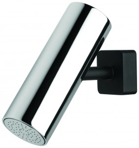 Milli Axon Shower Arm & Rose Black Plate $299 RRP