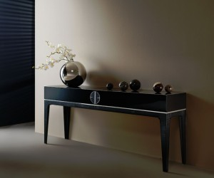 Mplace - Console Table - Black